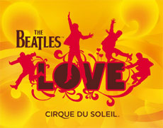 The Beatles LOVE show in Las Vegas